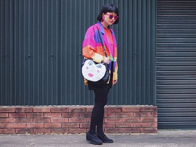 Look of the week – Be colorful and vintage!