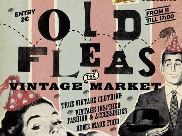 Old Fleas Vintage Market Anniversary Edition this Sunday!