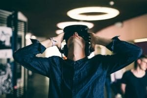 DEPART aus Österreich luden zum Test ihrer Virtual Reality-Installation ein.