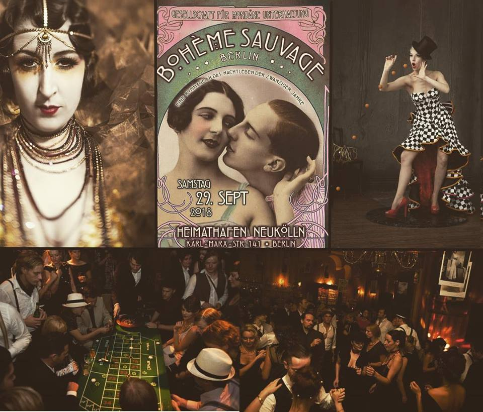 Win tickets: Boheme Sauvage brings back the 20s in style!