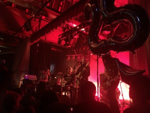 A Roller Coaster Night with the Dandy Warhols