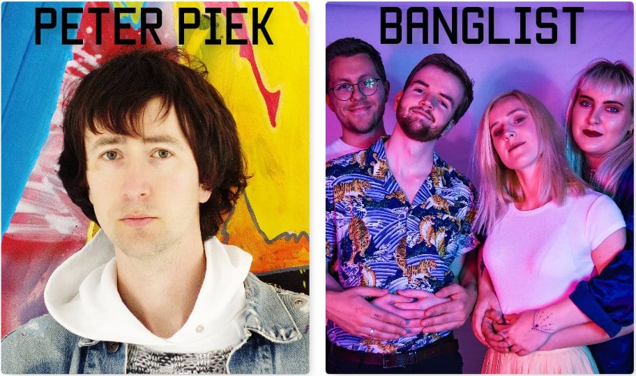 Banglist live at Lofi Lounge in Schokoladen 6th Feb with Pieter Piek and special guest
