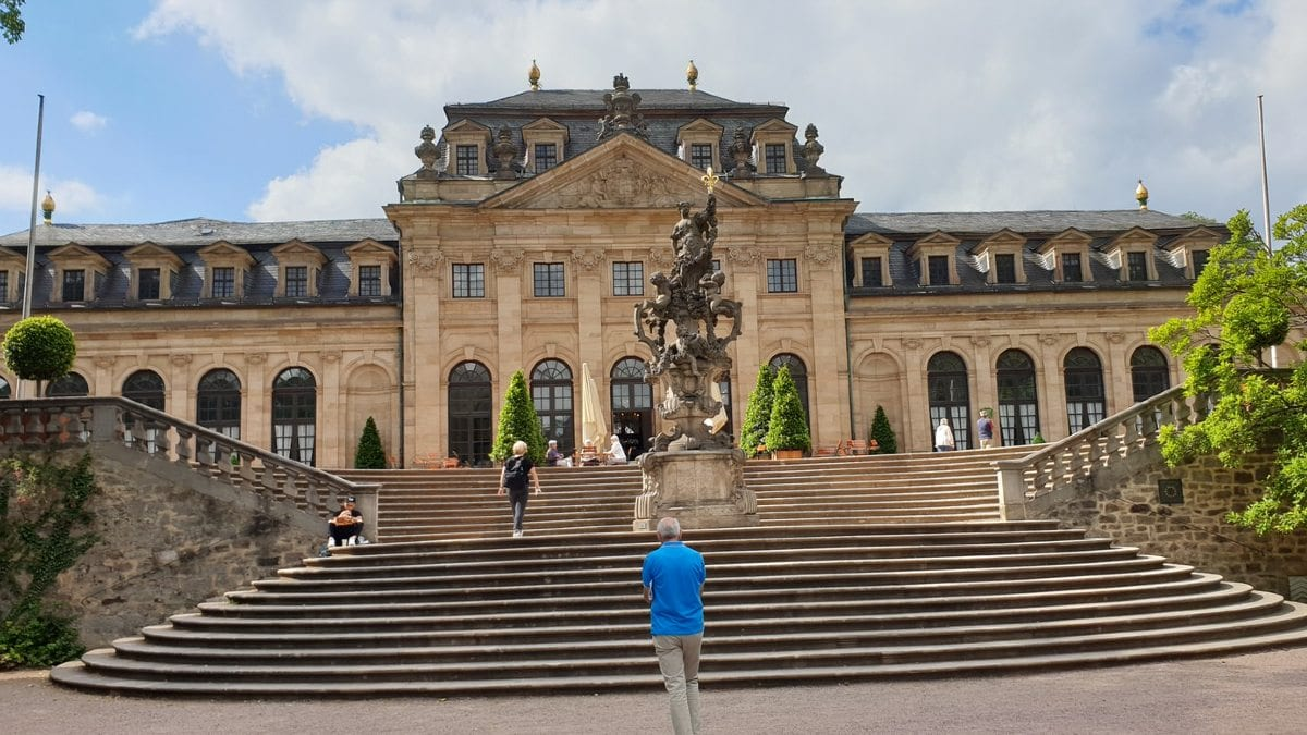 Fulda, West Germany: Baroque buildings and heaps of history