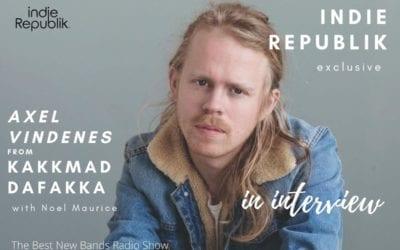 Axel Vindenes from Kakkmaddafakka in exclusive indieRepublik interview